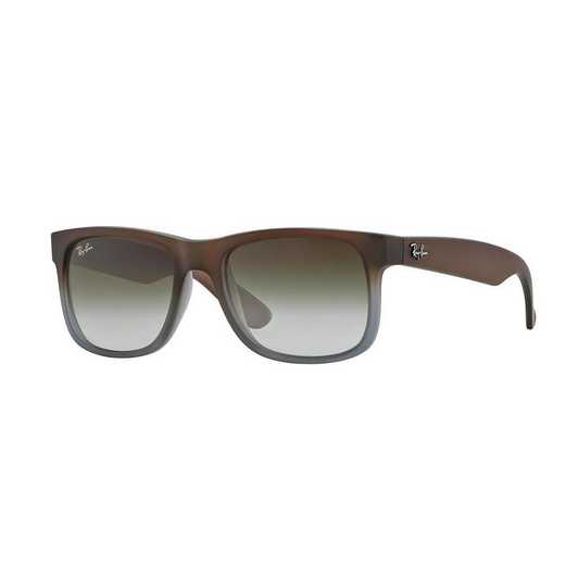 0RB41658547Z55: Ray-Ban Justin Sunglasses - Dark BRN/GRN Gradient